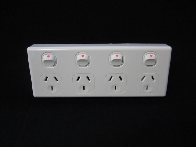 Four outlet power point