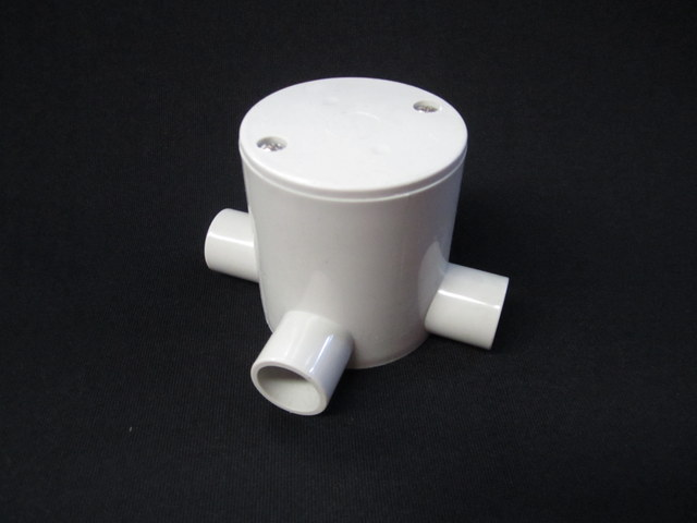 Deep Junction Box 20mm 2 Way 90 Degree